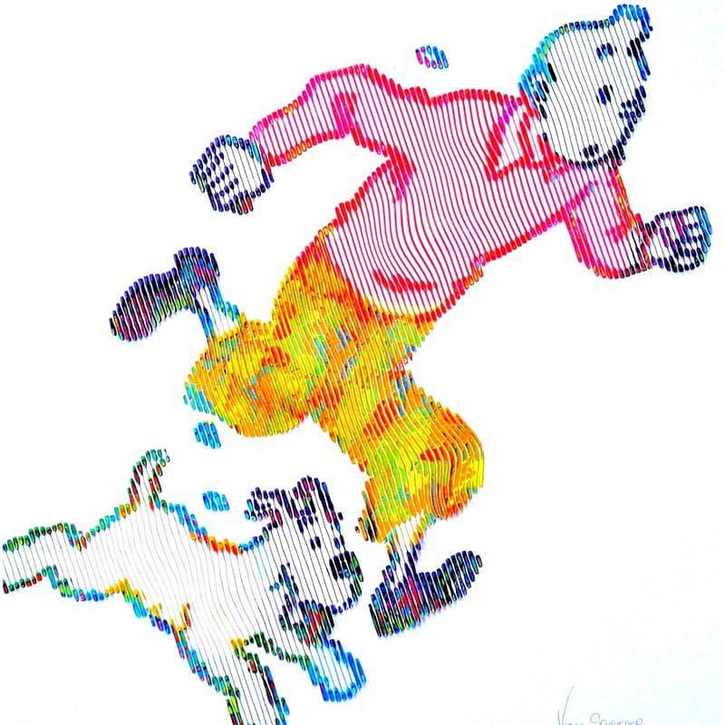 En routes vers de nouvelles aventures Milou et Tintin