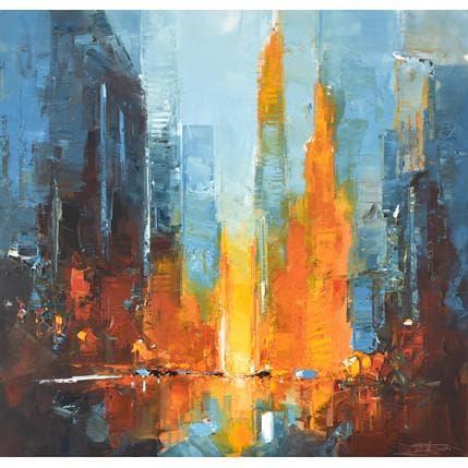Daniel Castan Manhattanhenge 100 x 100 cm