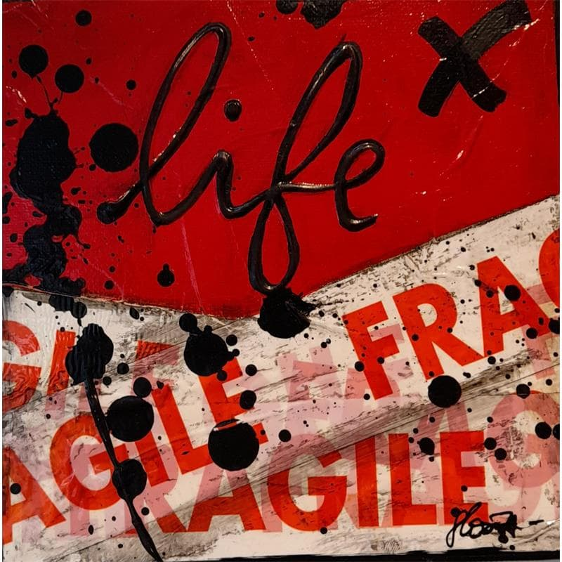 Fragile life (rouge)