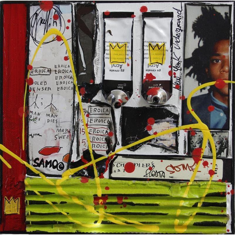 Tribute to Basquiat (blanc)