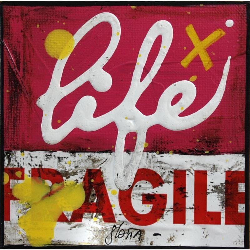 Fragile life (rose)