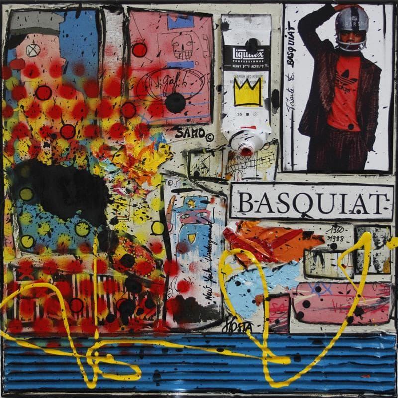 Tribute to Basquiat (beige)