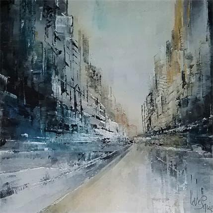 Emmanuelle Levesque Quartier d'hiver 19 x 19 cm