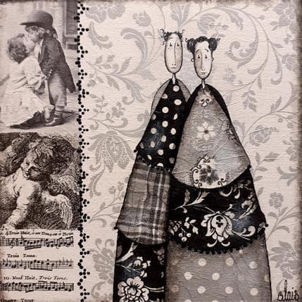 Delphine Blais Léonie et Joseph 19 x 19 cm