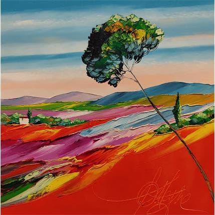 David Fonteyne PLAINE DE VALLAURIS 36 x 36 cm