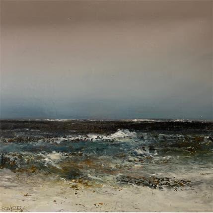 Rémi Schweizer En pleine mer 36 x 36 cm