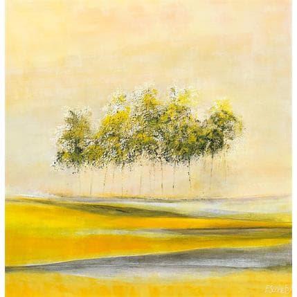 Odile Escolier Semis de lumière 80 x 80 cm