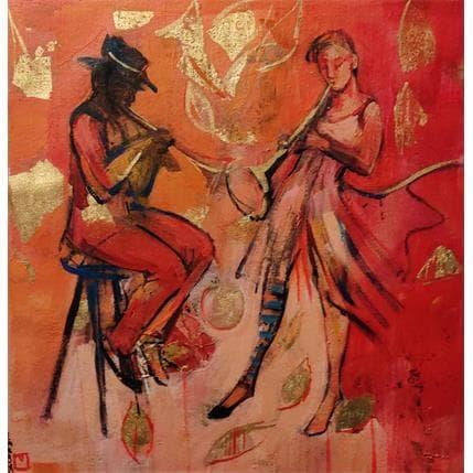 De Secondigné Dialogue musical 36 x 36 cm