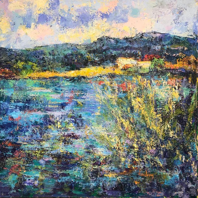 L'étang de la Bonde à Cucuron