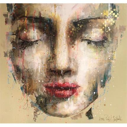 Anne Pivot-Iafrate Daphnée 100 x 100 cm