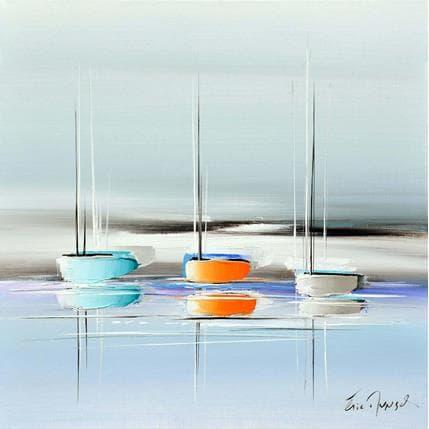 Eric Munsch Un doux voyage 50 x 50 cm