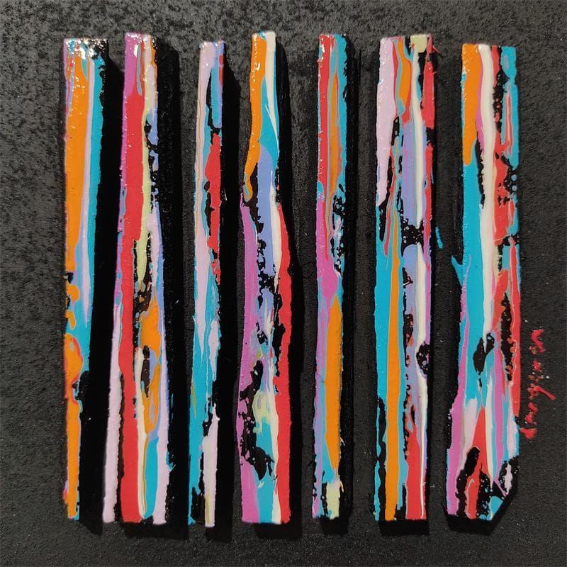 Peintures petit format Abstrait Technique mixte</h2>