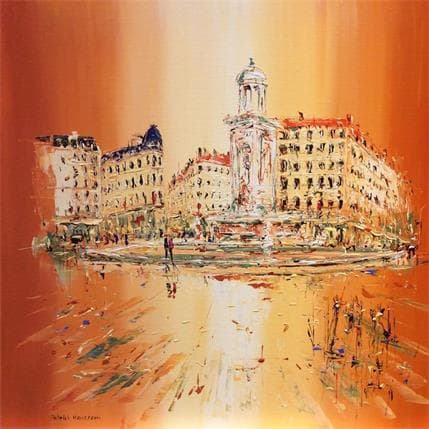 Patrick Rousseau Les jacobins 50 x 50 cm