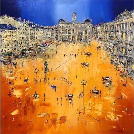 Patrick Rousseau Soirée joyeuse ! 80 x 80 cm