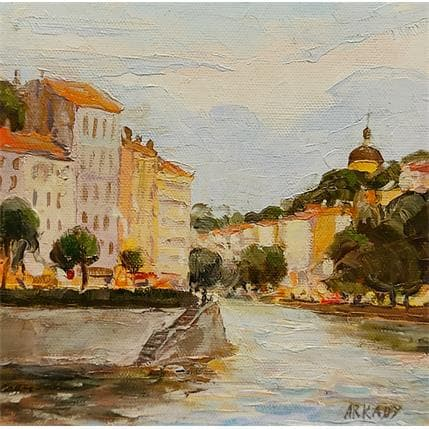 Arkady les environs de la ville de Lyon 19 x 19 cm