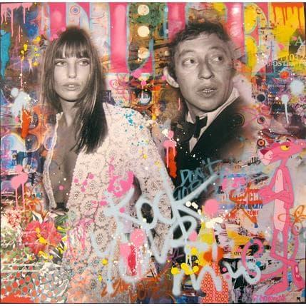 Fabien Novarino LOVE OF POP 80 x 80 cm