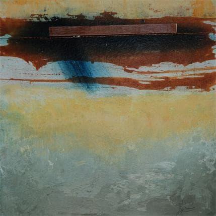 Christian Hévin Abstraction #3907 19 x 19 cm