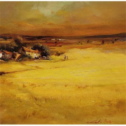 Jose Cabello Ruiz Llanuras de la Mancha 36 x 36 cm