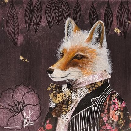 Catherine Rebeyre Mister Fox 13 x 13 cm