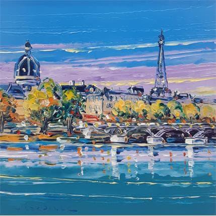 Liisa Corbière Automne à Paris 19 x 19 cm