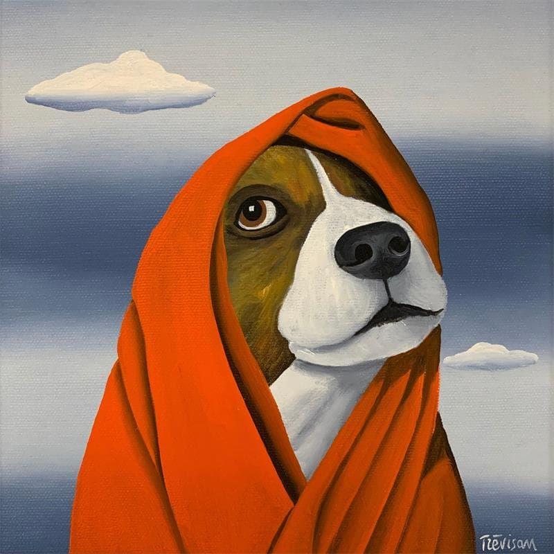 Lady red dog