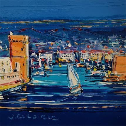 Liisa Corbière Retour au Vieux Port, Marseille 13 x 13 cm
