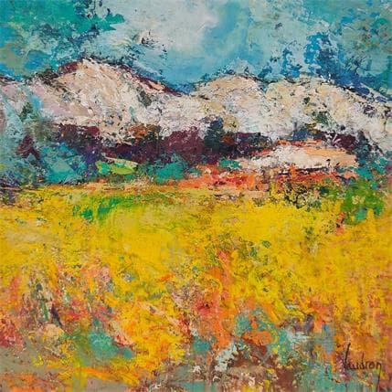Catherine Vaudron Alpilles 19 x 19 cm