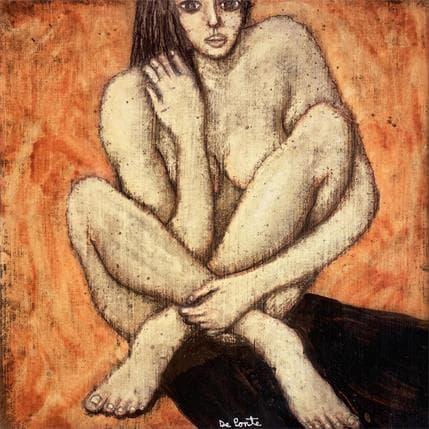 Sandro De Ponte Chica desnuda nos mira 2 36 x 36 cm