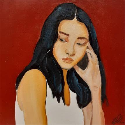 Manuela Gallo Doubts 19 x 19 cm