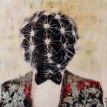 Laura Bofill Hombre cactus en plata 19 x 19 cm