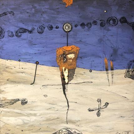 Thierry Boitier Désert d'encre 100 x 100 cm