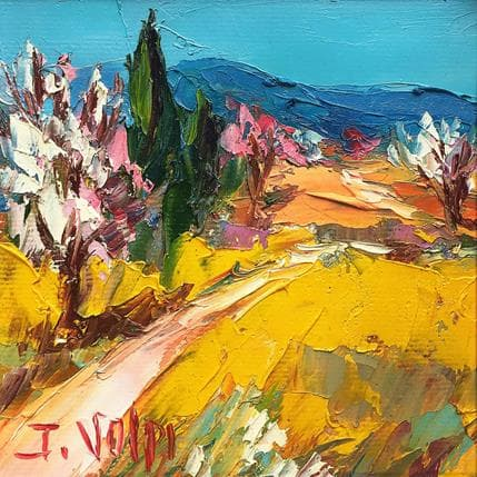 Jacques Volpi Printemps en Provence 13 x 13 cm