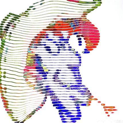Virginie Schroeder ST 19 x 19 cm