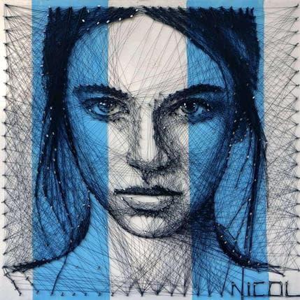 Nicoleta Vacaru Sans titre 50 x 50 cm