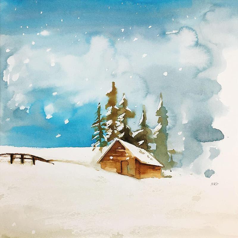 La neu au de mica en mica