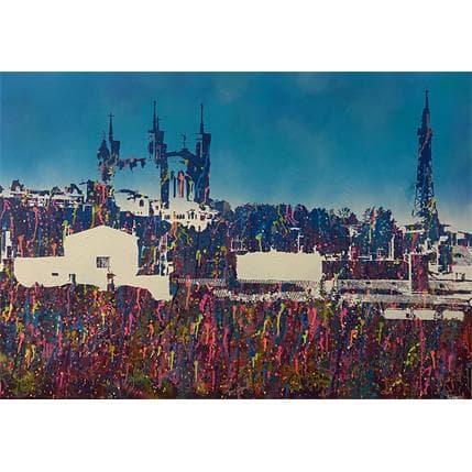 FRANCKY Lyon Fourvière colored 81 x 116 cm
