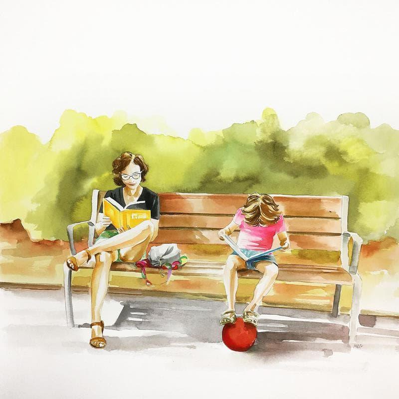 Lectores al parc