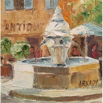 Arkady Fontaine d'Aix-en-Provence 13 x 13 cm