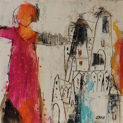 Zani The woman in red 19 x 19 cm