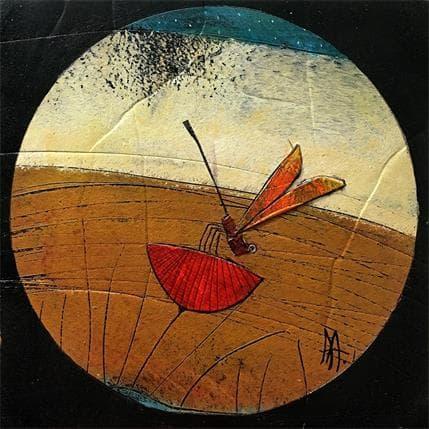 Arias Parera Libelula sisfrutando 19 x 19 cm