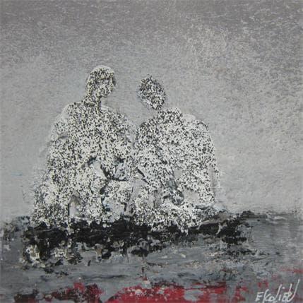 Odile Escolier UN INSTANT RIEN QU'A NOUS 13 x 13 cm