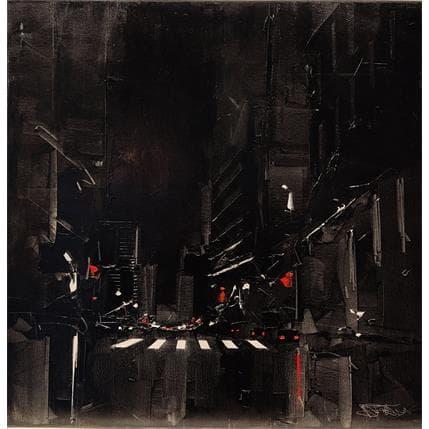 Castan Daniel Black-NYC 80 x 80 cm