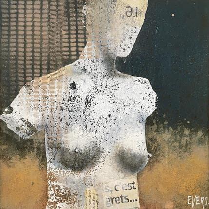 Angela Evers Les regrets 19 x 19 cm