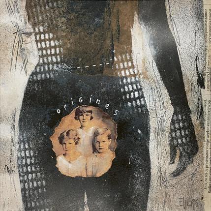 Angela Evers Origines 19 x 19 cm