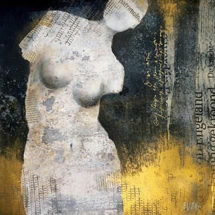 Angela Evers Nonchalance 36 x 36 cm