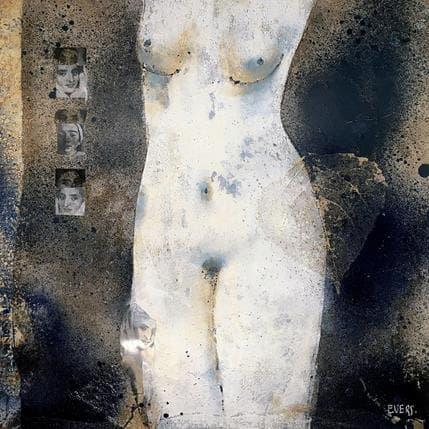 Angela Evers L'énigme 36 x 36 cm