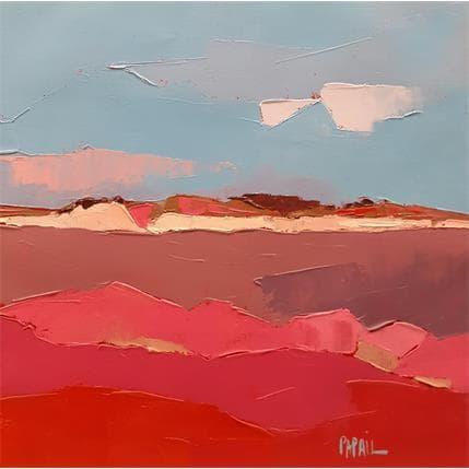 Françoise Papail Le marais et la dune 25 x 25 cm