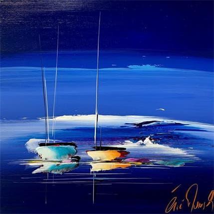 Eric Munsch Blue dream 36 x 36 cm