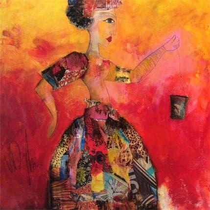 Valérie Depadova Petit panier 80 x 80 cm