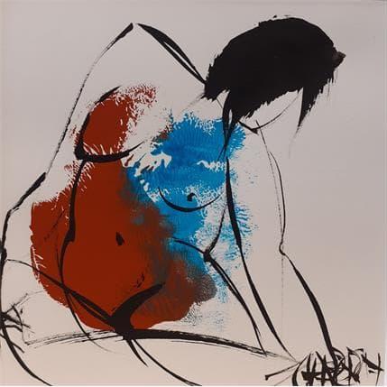 Martine Chaperon Terre et ciel 1 13 x 13 cm